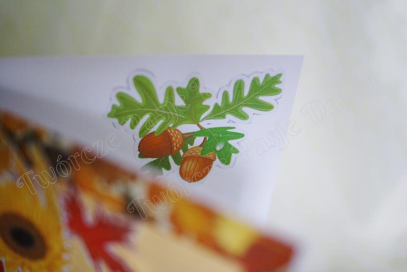Kartka-Jesien