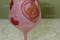 Kieliszek Walentynkowy